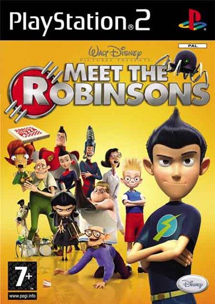 Igrica za Sony Playstation 2 PS2 Meet the Robinsons