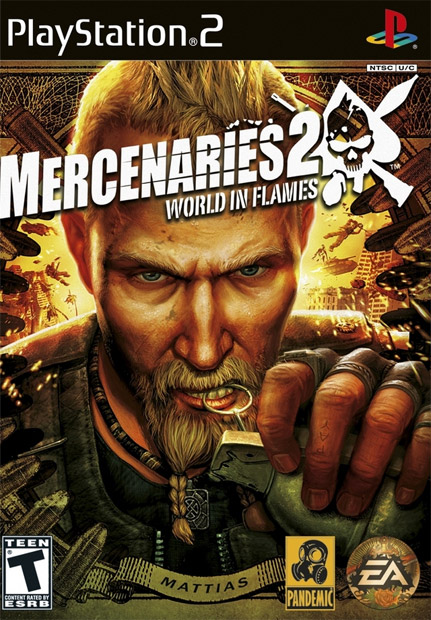 Igrica za Sony Playstation 2 PS2 Mercenaries 2: World in Flames