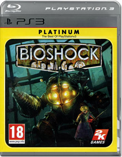 Igrica za Sony Playstation 3 PS3 Bioshock Platinum