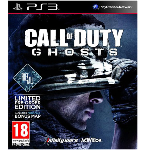 Igrica za Sony Playstation 3 PS3 Call of Duty: Ghosts Limited Edition