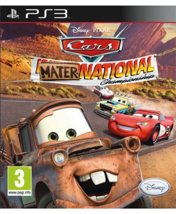 Igrica za Sony Playstation 3 PS3 Cars Mater-National
