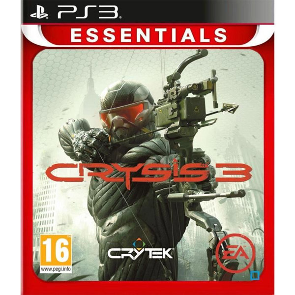 Igrica za Sony Playstation 3 PS3 Crysis 3 Essentials