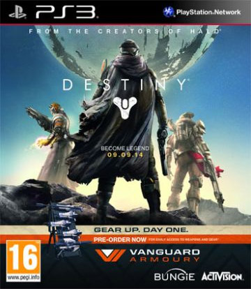 Igrica za Sony Playstation 3 PS3 Destiny Vanguard Armoury Edition