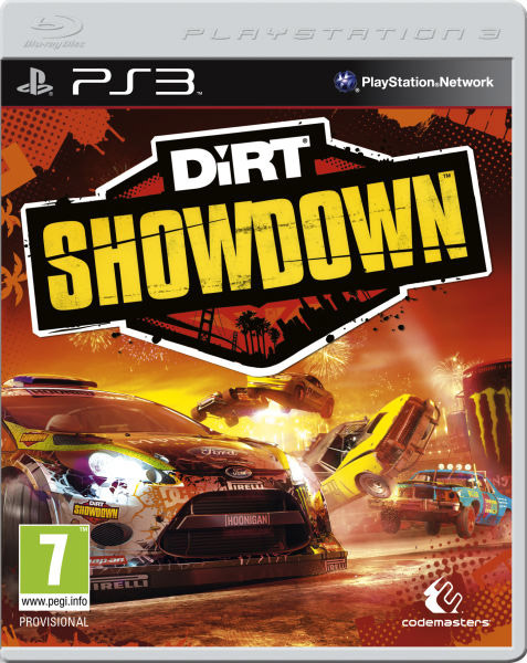 Igrica za Sony Playstation 3 PS3 Dirt Showdown