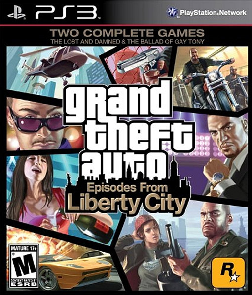 Igrica za Sony Playstation 3 PS3 Grand Theft Auto: Episodes from Liberty City