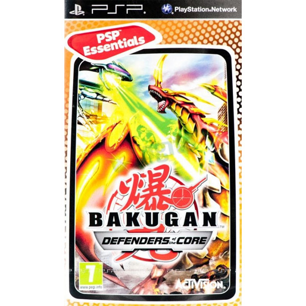 Igrica za PSP Playstation Portable Bakugan: Defenders of the Core Essentials
