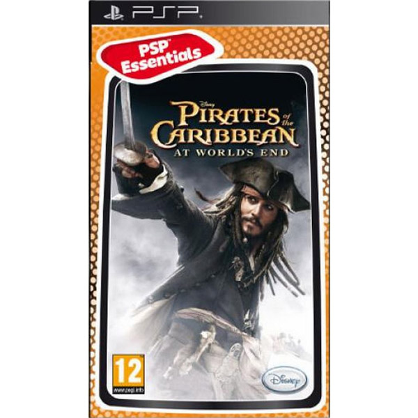 Igrica za PSP Playstation Portable Pirates of the Caribbean: At Worlds End Essentials