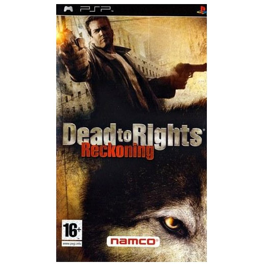 Igrica za PSP Playstation Portable Dead to Rights: Reckoning
