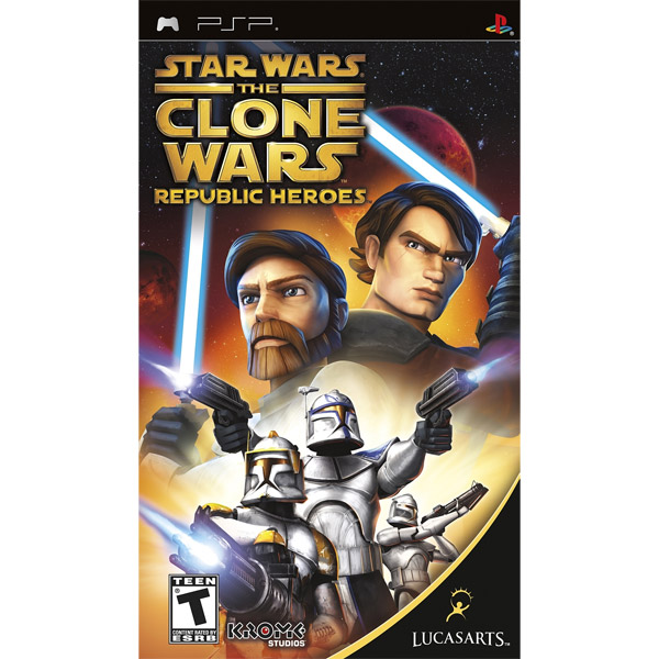 Igrica za PSP Playstation Portable Star Wars The Clone Wars: Republic Heroes