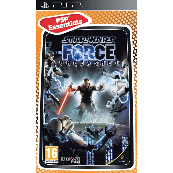 Igrica za PSP Playstation Portable Star Wars: The Force Unleashed Essentials
