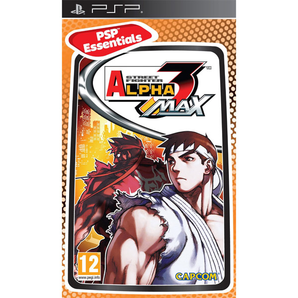 Igrica za PSP Playstation Portable Street Fighter Alpha 3 Max Essentials