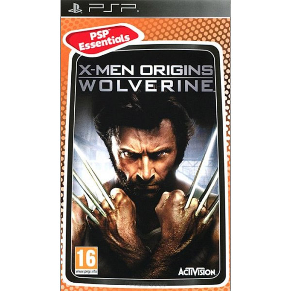 Igrica za PSP Playstation Portable X-Men Origins: Wolverine Essentials