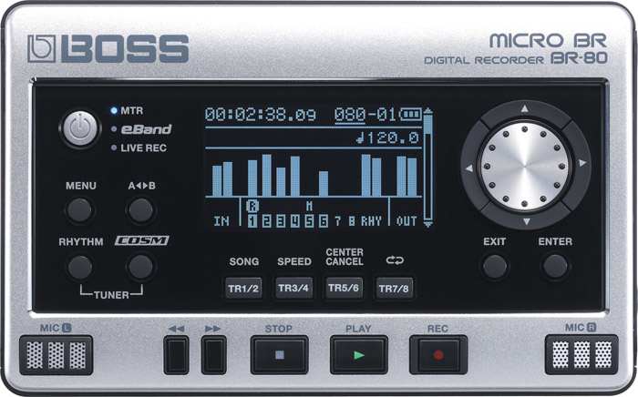 Mini muzički studio za snimanje Boss BR-80 Digital Recorder 704281