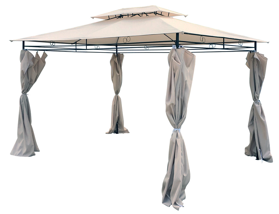 Tenda Gazebo Paviljon Thira - 3 x 4 m