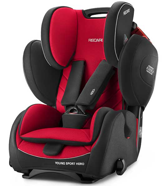 Autosedište za decu Recaro Young Sport Hero Racing Red 9 - 36 kg