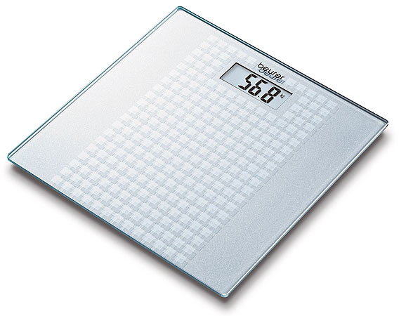 Beurer digitalna vaga GS-28, Frosted Squares