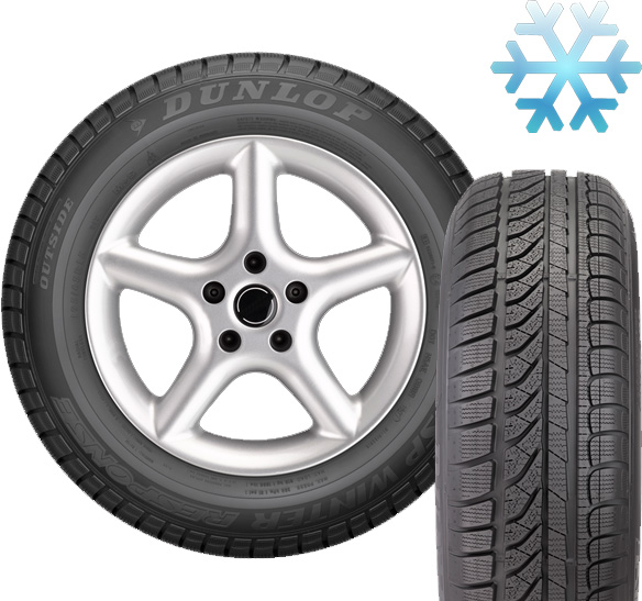 Zimska guma 14 Dunlop 185/60R15 88H SP Winter Response MS AO XL 525816