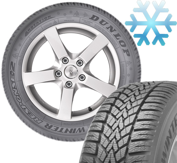 Zimska guma 14 Dunlop 185/65R14 86T SP Winter Response 2 MS 528966