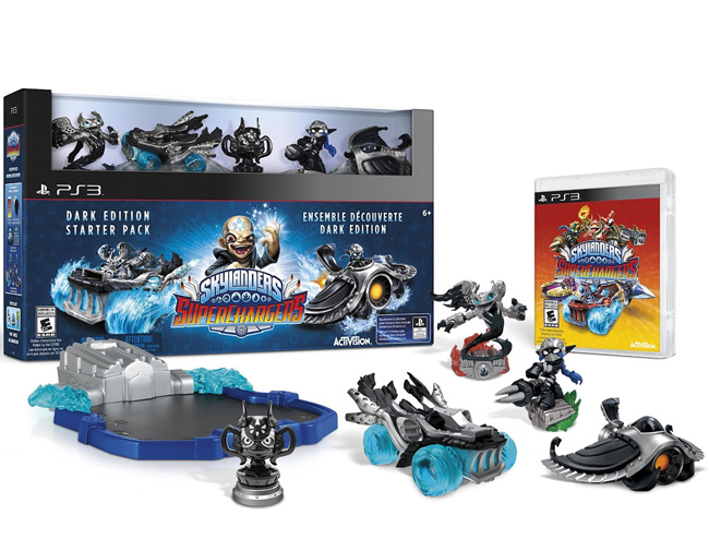 Skylanders SuperChargers PS3 Dark Edition Starter Pack 87564EG