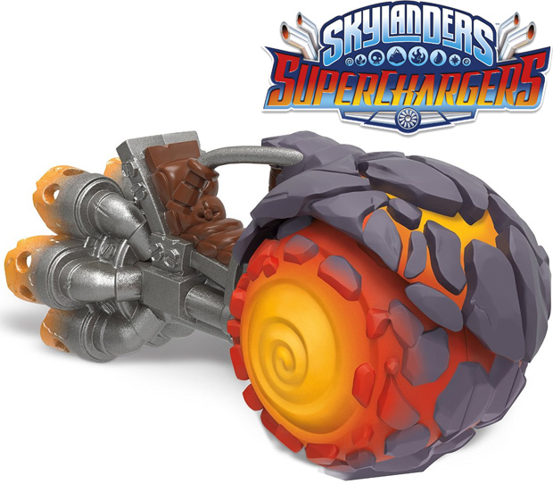 Skylanders SuperChargers Vehicle Burn-Cycle 87545EU