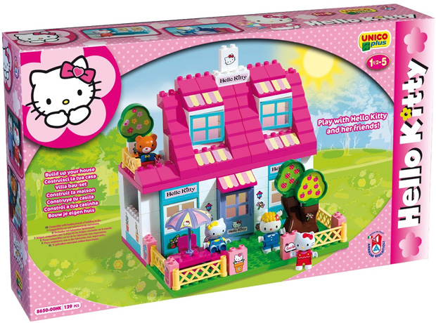 Unico plus kocke Hello Kitty kućica 886507