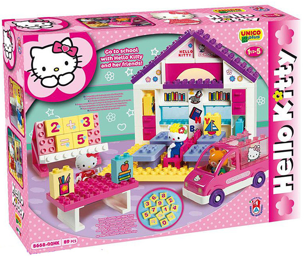 Unico plus kocke Hello Kitty 886682