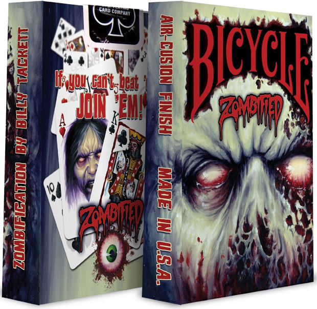 Bicycle Zombified Špil karata za igranje 0690