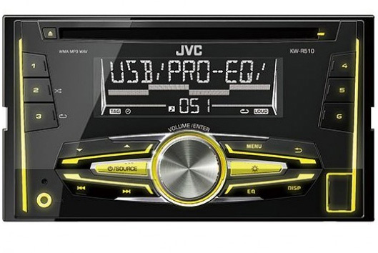 Auto Radio CD USB Player JVC KW-R510EY