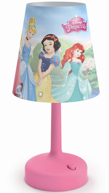 Stona lampa Philips Princess pink 71796/28/16