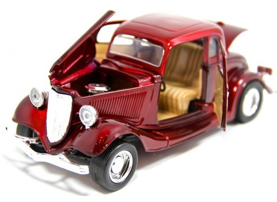 Autić 1:24 MotorMax 1934 Ford Coupe 225435-8
