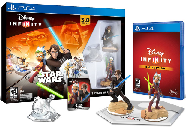 Disney Infinity PS4 Infinity 3.0 Starter Pack Star Wars IZBM000005 023334