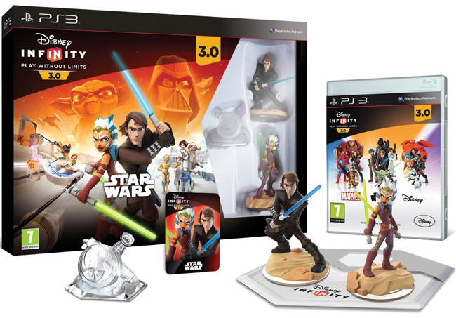 Disney Infinity PS3 3.0 Star Wars Starter Pack IZBC000005 023333