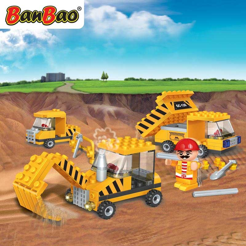 BanBao Engineer kocke Bager 8126
