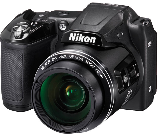 Nikon Digitalni Fotoaparat CoolPix L840 Black