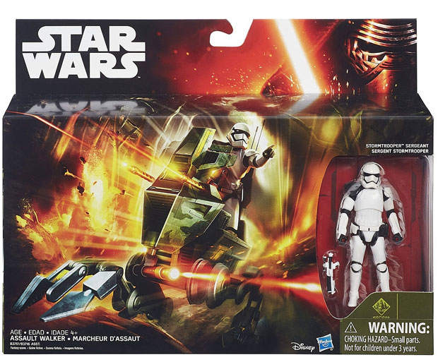 Star Wars vozilo sa figurom Assault Walker B3716