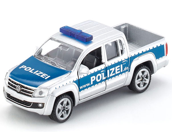 Siku Policijski autić VW Amarok pick-up 1:55 1406