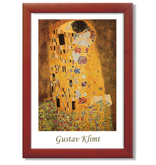 Gustav Klimt - The Kiss - 50x70 E3 EP