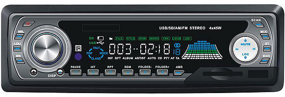 SD-MMC-USB-FM Auto player XZ-A8