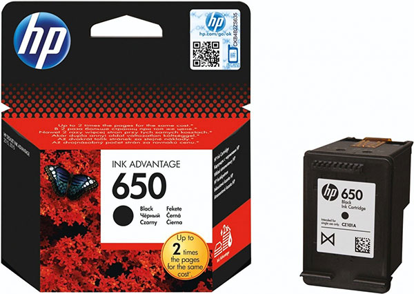 HP No.650 crni Original Ink Advantage Kertridž CZ101AE
