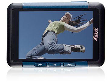 Xwave S-90 4GB blue - MP5 player