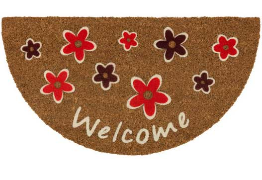 Otirač Astra Coco Design Welcome flowers 45x75