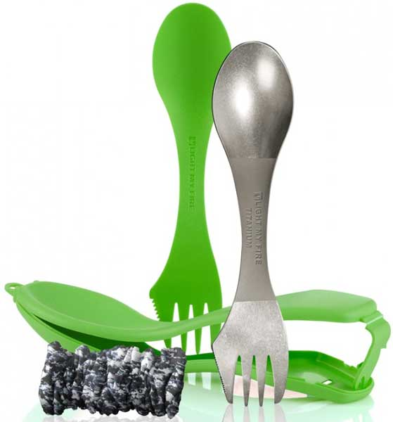 Višenamenski pribor za jelo Light My Fire Ultimate Spork Kit OE0LM 55702340 green