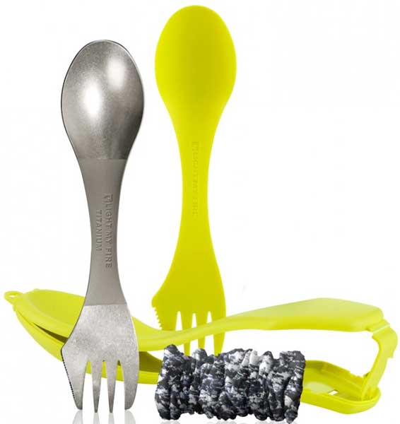 Višenamenski pribor za jelo Light My Fire Ultimate Spork Kit OE0LM 55702340 lime
