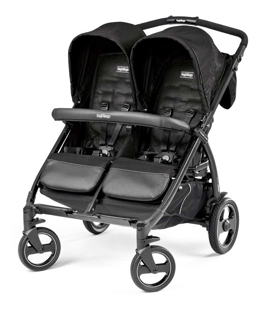 Peg Perego Kolica za blizance Book For Two Mod Black