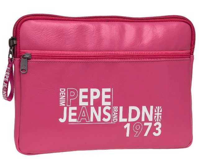 Pepe Jeans Neseser / torbica za tablet London Brand Pink