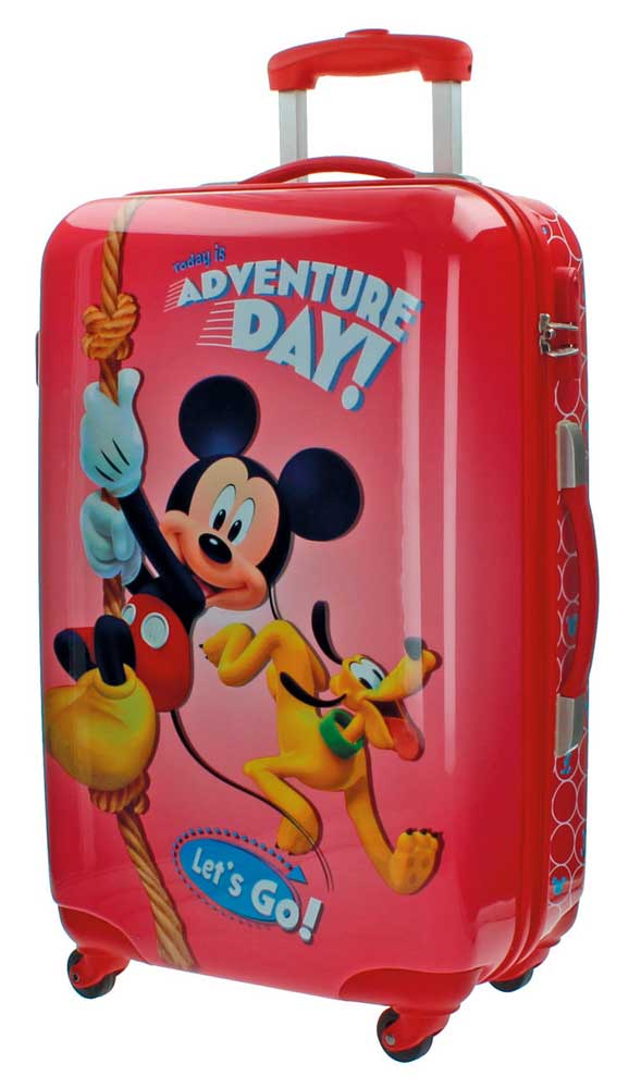 Disney Dečiji putni ABS kofer 67cm Mickey Adventure Day