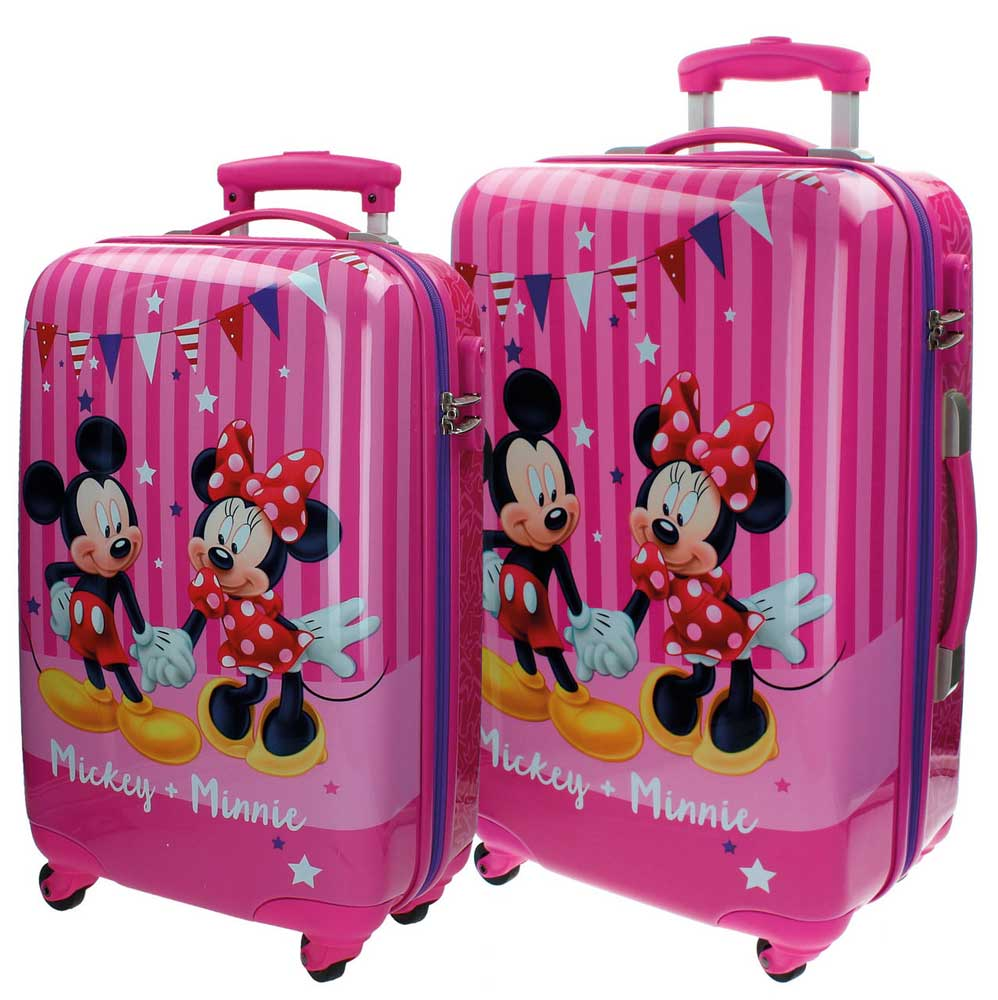 Disney Dečiji putni koferi - set - Mickey + Minnie