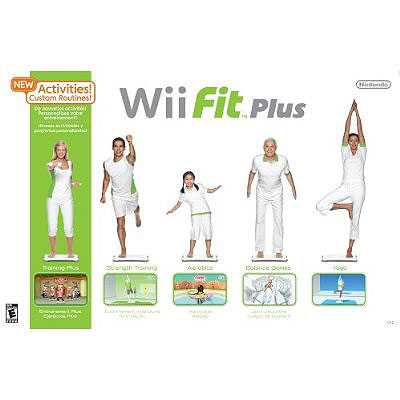 Nintendo Wii Fit Plus + Wii Balance Board