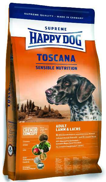 Hrana za pse Happy Dog Supreme Sensible Toscana 12,5kg + 2kg GRATIS