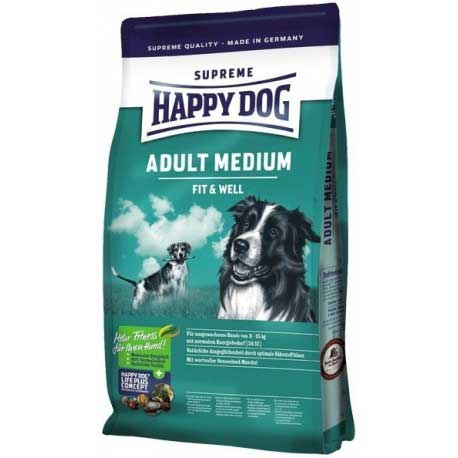 Hrana za pse Happy Dog Supreme Fit n Well Medium Adult 1kg